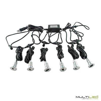 Perfil de aluminio para tira LED Encastrado modelo Cesar (2mts)