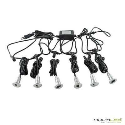 Perfil de aluminio para tira LED de Superficie Modelo Ever (2 Mts)