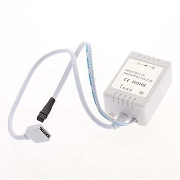 Aplique Led de exterior 6W Modelo Flat Blanco Frío