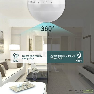 Dicroica Led Eco SMD2835 6W GU10 Blanco Frío (Regulable)
