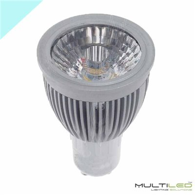 Dicroica Led Eco SMD2835 6W MR16 12V Blanco Cálido