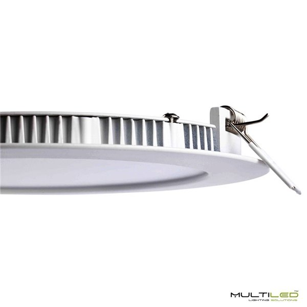 Empotrable Downlight Led 18W Extraplano PC Blanco Frío