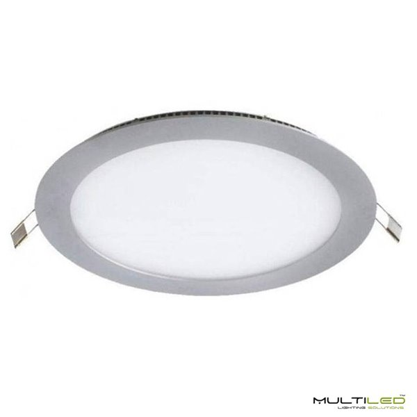 Empotrable Downlight Led 12W Extraplano Blanco Frío