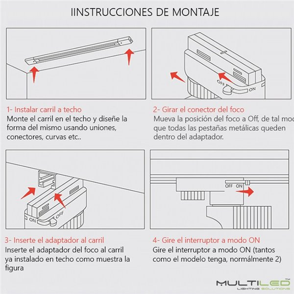Panel Led 30X120 40W Blanco Frío