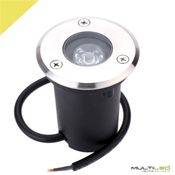 Lampara Led de Mesa RGB Cromado Circle 450mm Diametro