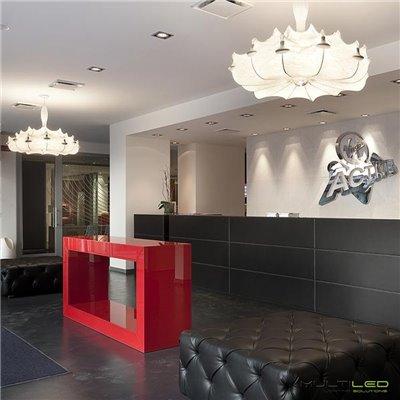 Lampara Led G4 Aluminio 1,5W Blanco Cálido
