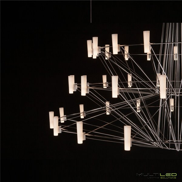 Lampara Led G4 48 Leds 3W 360º ACDC 12V Blanco Frío (Regulable)