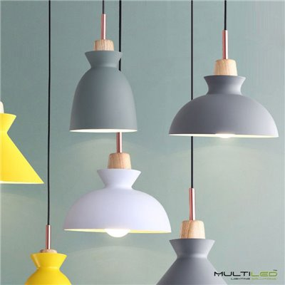 Bombilla Led tubular de Filamento 5W Blanco Cálido T30 185mm E27 (Regulable)