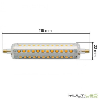 Lampara Led G9 COB Silicona 1,6W 360º Blanco Cálido (Regulable)