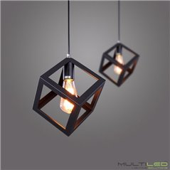 Campana LED Philips-Blacksteel 120W 120lm/W UFO 6000K Blanco Frío