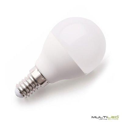 Lampara Led de Mesa Cromado Circle 360mm Diametro