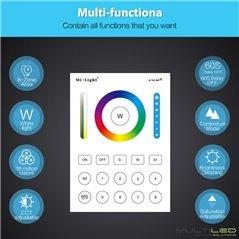 Lampara Led Par56 20W para instalacion en nicho RGB