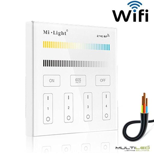 Cable paralelo 2 hilos Rojo-Negro para tira led monocolor, 6mts