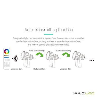 Aplique Led de interior-exterior 6W Modelo Cube Blanco Cálido