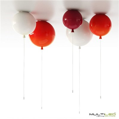 Lampara Led Colgante de techo 1 Aro 16W 400mm Kefren