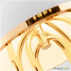 Lampara Led Colgante de techo 152W 1000+800+600mm Hellen Cristal K9