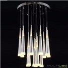 Lampara Led de Techo 152W 600+800+1000mm Hellen Cristal K9