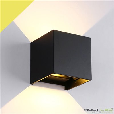 Lampara Led Colgante Lineal de techo 1800mm 135W Gilmore Negra