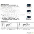 Lampara Colgante Loft moderna Aqua Negra y Cristal