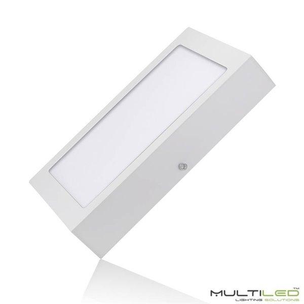 Lampara Colgante contemporánea Darius blanca metálica y madera