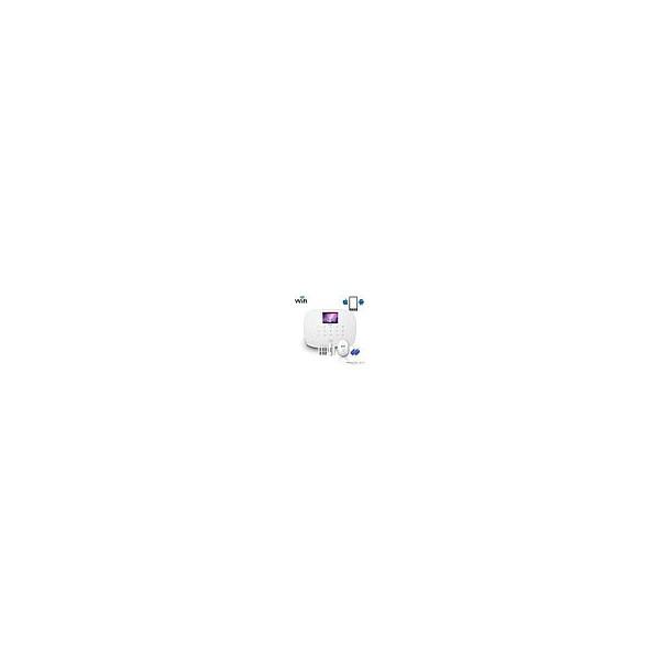 Interruptor conmutador Wifi Cinético sin baterías 3 zonas universal Blanco