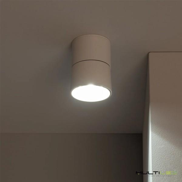 Aplique de Pared 1xGU10 Aluminio Redondo Negro V-TAC