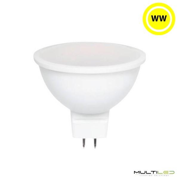 Bombilla LED R7S 78mm 5W COB AC Blanco Frío