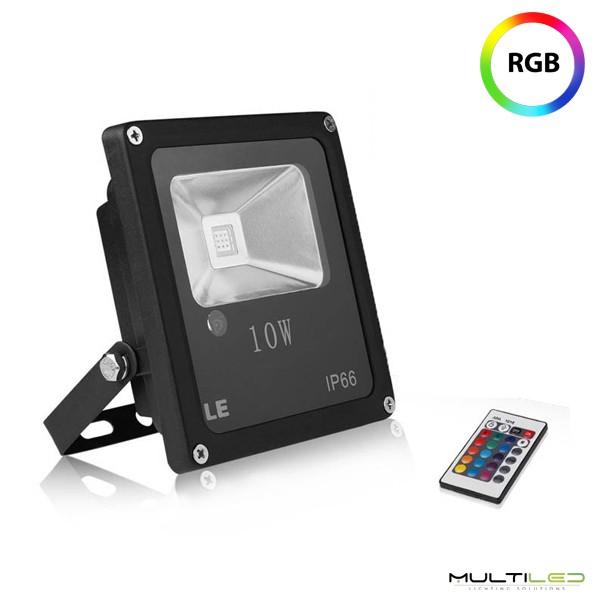 Controlador tira led RGB 220V 1500W 3A 3CH RF Cableado Mando Tactil