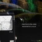 Lampara Led Colgante de techo 20W Eugene Cristal K9 (CCT) con mando