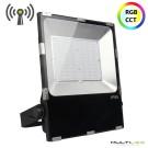 Lampara Led Colgante de techo 24W Calix Cristal K9 (CCT) con mando