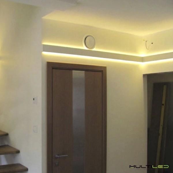 Foco Proyector Led 10W SMD con detector PIR Blanco Cálido IP65