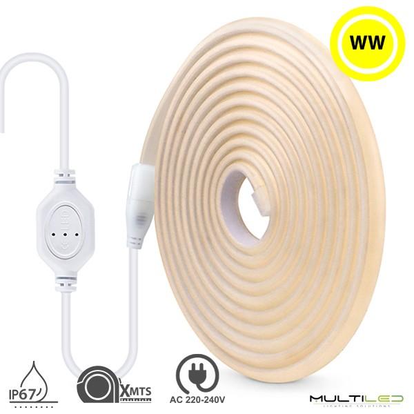 Aplique Led de Pared Solar 3W Blanco Cálido IP65 V-TAC