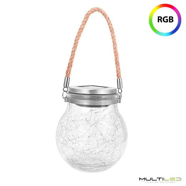 Bombilla Led Tubular Transparente de Filamento 4W Blanco Cálido T45 110mm E27 (Regulable)