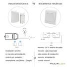 Lampara Led Colgante circular cuerpo acero 256 leds G4 Ø1500 Raimond