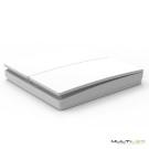 Lampara Led Colgante circular cuerpo acero 42 leds G4 Ø500 Raimond