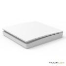 Lampara Colgante diseño dorada de 20 cabezas LED G9  Ø2000 Neo