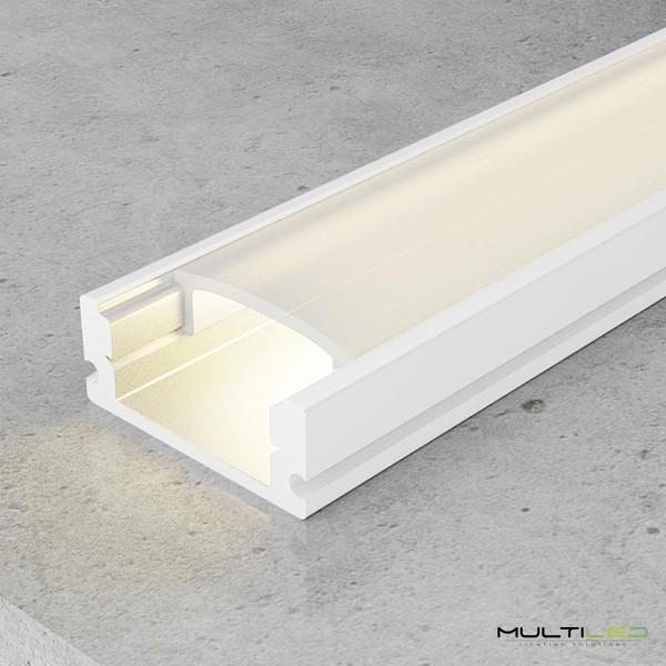 Lampara Colgante Led integrado 36W 3 modulos down blanco Igloo